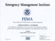 FEMA IS-To Come Certificate Thumb